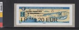 ATM-LISA : NABANCO  L. PRIO INTERNATIONALE 1.20 €  - PAQUEBOT- PARIS 7-10 Juin 2018 - 2010-... Illustrated Franking Labels