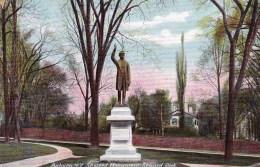 Seward Monument, Seward Park, New York, USA Vintage Unused - NY - New York