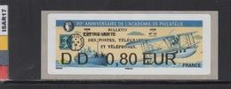ATM-LISA : NABANCO  L. VERTE 0.80 €  - PAQUEBOT- PARIS 7-10 Juin 2018 - 2010-... Illustrated Franking Labels