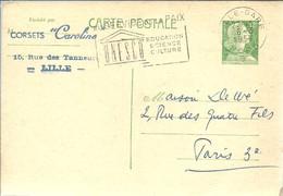 STATIONERY  1957 FRANCIA - UNESCO