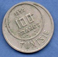 Tunisie  -  100 Francs 1950  - Km # 276   - état TTB - Tunisie