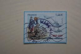 FRANCE 2017   CL92    150 Ans DE TRANSMISSION MILITAIRE  Double   Cachet - France