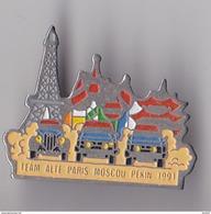 PIN'S THEME RALLYE PARIS MOSCOU PEKIN 1991  TEAM  ALTE  1991 - Rallye