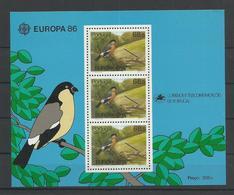 ACORES - BLOC FEUILLET N°YT 7 NEUF** LUXE SANS CHARNIERE - COTE YT : 13€ - 1986 - Azores