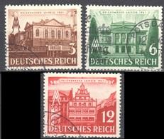 Deutsches Reich 1941 - Mi.764-67 - Used - Gestempelt - Germany