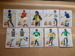 LOT FOOTBALL PANINI 1994 KOPA PLATINI PIANTONI BERETA FONTAINE BATS REVELLI BATTISTON Henri MICHEL - Trading Cards
