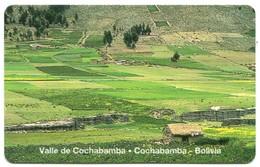 Bolivia Entel - BO-ENTEL-028 - Cochabamba Valley (MINT) - Bolivia