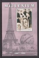Chad MNH Block Millenium 1900-1924 - Tsjaad (1960-...)