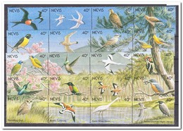 Nevis 1991, Postfris MNH, Birds - Anguilla (1968-...)