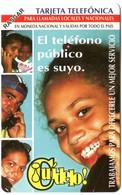 Cuba Etecsa - CU-UR-035 Cuidalo (2da Emision) (MINT) - Cuba