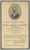 Souvenir Mortuaire D'Alexandre Guillory , Notaire Honoraire à Saint-Julien-l'Ars , Décédé En 1935 à 68 Ans . - Images Religieuses