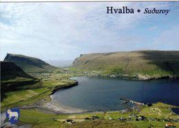 1 AK Färöer Faroe-Islands * Ansicht Des Ortes Hvalba Auf Der Insel Suduroy * - Faroe Islands