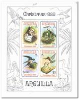 Anguilla 1980, Postfris MNH, Birds - Anguilla (1968-...)