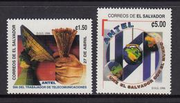 El Salvador MNH Michel Nr 2017/18 From 1996 / Catw 3.00 EUR - El Salvador