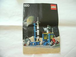 ISTRUZIONI MANUALE INSTRUCTION LEGO  920 - Catalogs