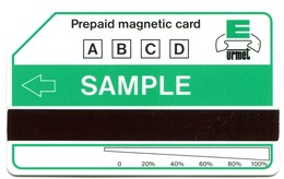Urmet Test For Argentina And Others Countries - 5416 C&C Sample Green (Large Magnetic Band) - Argentina
