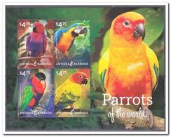 Antigua & Barbuda, Postfris MNH, Birds, Parrots - Antigua En Barbuda (1981-...)