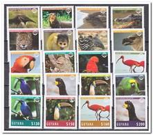 Guyana 2014, Postfris MNH, Birds, Animals - Guyana (1966-...)