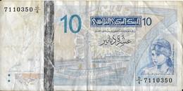 TUNISIE - 10 Dinars - 2005-11-7 - - Tunisie