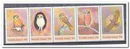 Norfolk Island 1984, Postfris MNH, Birds, Owls - Norfolk Eiland