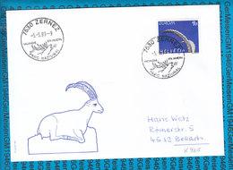 Special Stamped Cover Switzerland  - 7530 Zernez - Entiers Postaux