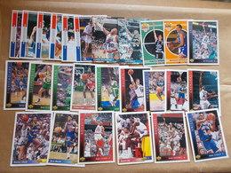 LOT PANINI CARTES BASKET FRANCE USA NBA GADOU RIGAUDEAU FORTE LIMOGES MAXWELL BOL RIDER MALONE + De 20 - Trading Cards