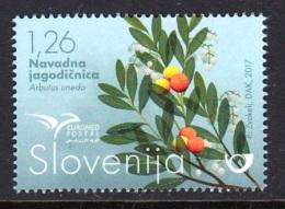 1.- SLOVENIA 2017 Trees Of The Mediterranean - Euromed - Emisiones Comunes