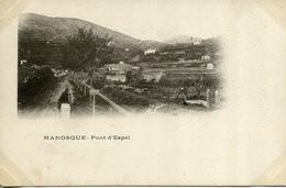 Manosque Pont D'Espel (coin Inférieur Gauche Rogné) - Manosque