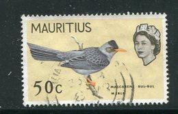 MAURICE- Y&T N°275- Oblitéré (oiseau) - Maurice (...-1967)