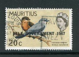 MAURICE- Y&T N°302- Oblitéré (oiseau) - Maurice (...-1967)