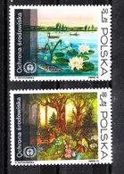 Polonia   -   1973.  Vegetazione Lacustre E Boschiva. Lacustrine And Wooded Vegetation. MNH - Vegetazione
