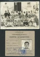 Lot + De 30 Docs , Photos,  Divers,  Provenant De L'archive De Monsieur Sebaoun  Maxime, Vers 1950 à Blida Mald62 - Album & Collezioni