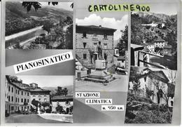 Toscana-pistoia-pianosinatico Vedute Animate Pianosinatico Anni 50 - Italia