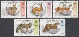 FALKLAND ISLANDS  Michel  659/63  Very Fine Used - Falkland