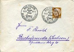 34596 Germany Reich,circuled Cover Postmark 1934 Bad Polzin, Rheuma Und Gicht, Gout  Goutte,mineralbad - Alemania