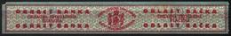 Yugoslavia - BACKA Regional 1937 LUXURY Revenue Tax Stamp  - Trosarina - 25 P - Sombor MNH - Stripe - Officials