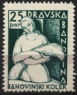 1936 Yugoslavia / Slovenia - Dravska Banovina - Revenue Tax Stamp - MNH - 25 P - Slovenia