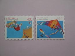 1990 Australie Yvert 1181/2 ** Sport  Scott Xx Michel 1223/4  SG Xxx - 1990-99 Elizabeth II