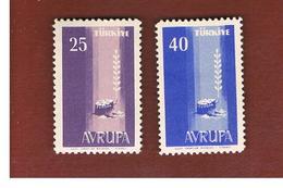 TURCHIA (TURKEY) - 1958 EUROPA     -     MINT** - Europa-CEPT