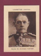 080618 - IMAGE CIGARETTE XANTHIA Général Sir Archibald HUNTER - Militaria Personnalité Médaille - Autres
