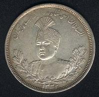 Iran, 5000 Dinars AH 1332, Silber - Iran