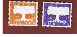 SARRE (SAARLAND) - 1957 EUROPA     -     MINT** - Europa-CEPT
