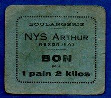 Boulangerie  -- Nys Arthur --  Bon Pour 1 Pain De 2 Kg - Bonds & Basic Needs