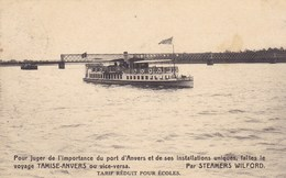 Temse, Tamise -Anvers, Steamers Wilford (pk46884) - Temse