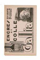 Buvard ENCRES Et Colles GALLIA Chat - Stationeries (flat Articles)