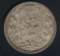 Iran, 5000 Dinars AH 1320, Silber - Iran