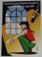FIRENZE - Scandicci - 1° Mostra Mercato Del Fumetto - 13/14 Marzo 2010 - Illustratore Giuseppe Di Bernardo - Comics - Firenze