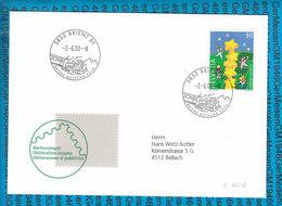 Special Stamped Cover Switzerland  - 3855 Brienz - Entiers Postaux