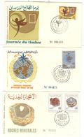 Lot De 6 FDC Maroc - Diverses 1973 , 1974 Et 1975 - Maroc (1956-...)