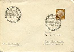 34604 Germany Reich.circuled Cover 1938 Waltershausen,thur. Sommerfische,Puppen, Spielzeug,dolls Toys - Duitsland